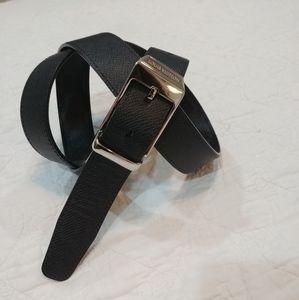 Louis Vuitton dark brown reversible belt